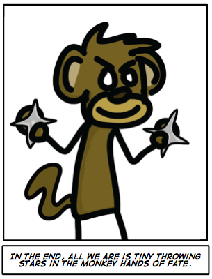 #212: Monkey Hands of Fate
