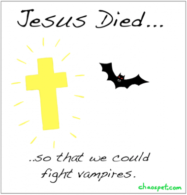 #83 Jesus vs. Vampires
