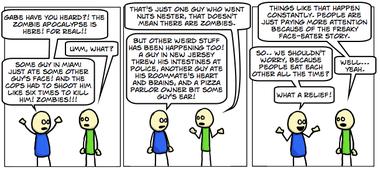 #225: Zombie Apocalypse (not!)