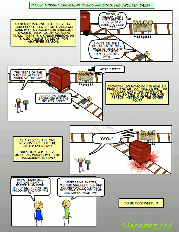 #30 The Trolley Case