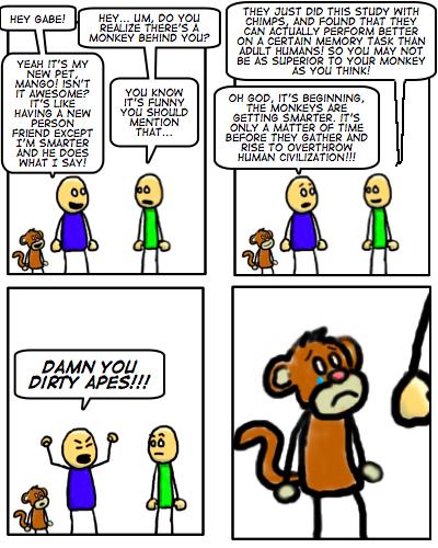 #64 Damn Dirty Apes!
