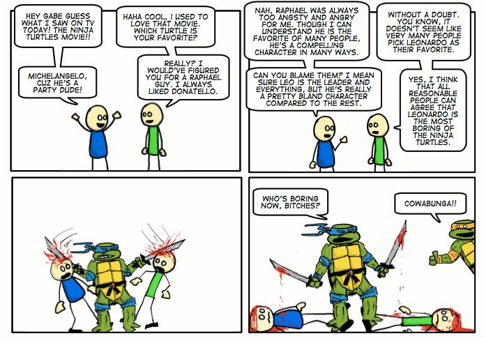 #113 Turtle Power!