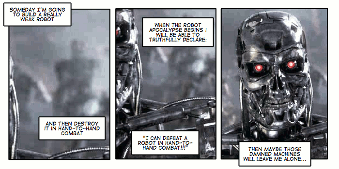 #129 Robot Apocalypse Survival Tip