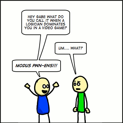 #134 Logic Pun