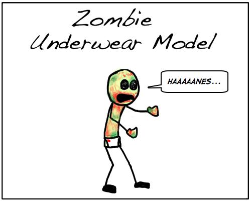 #175 Zombie Fashion