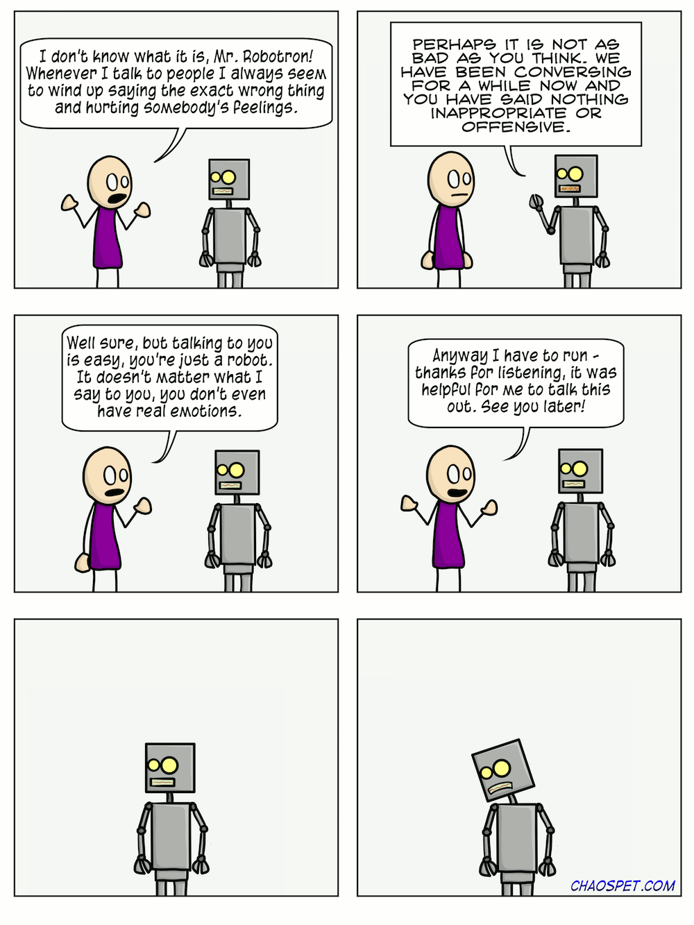 #275: Just a machine